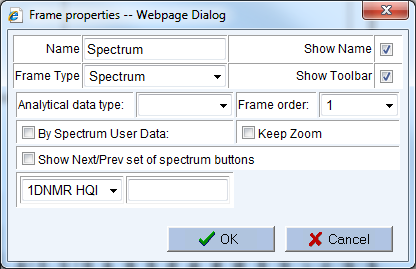 Frame Properties Now it is time to establish your spectral view settings: To display and navigate between mass, FTIR, and chromatographic data on the default Database Home page, select the Database