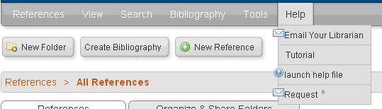 8.3 Importing from other Bibliographic Management Programs If you already use another Bibliographic Management tool such as EndNote or Reference Manager you can find specific help on RefWorks on how