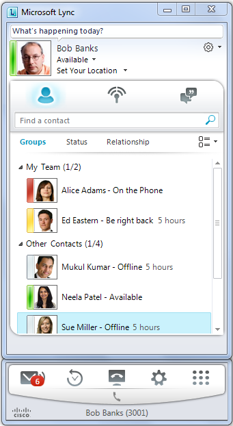 Microsoft Office Communicator Integration running with Office Communicator Microsoft Lync