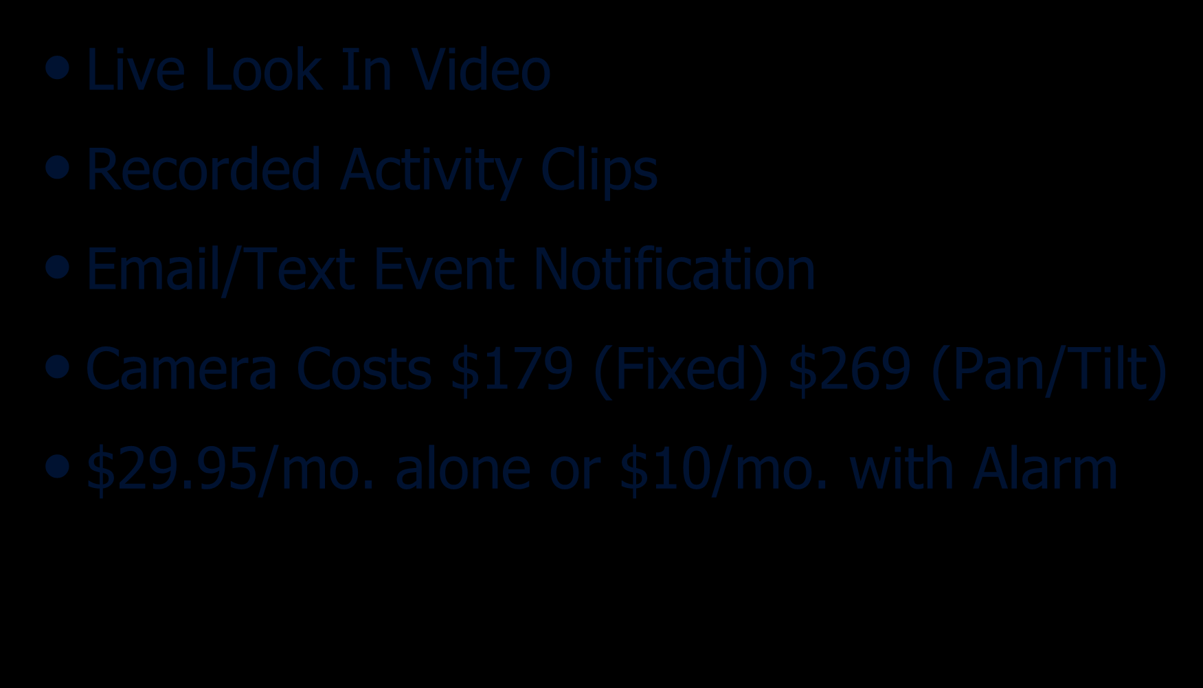 Notification Camera Costs $179 (Fixed)