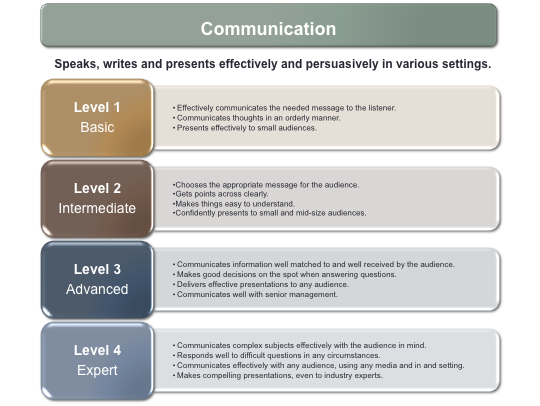Figure 1 Job-competency profiles, sometimes referred to as job-competency models, are created by identifying the competencies required for someone to be successful in a role and specifying the degree