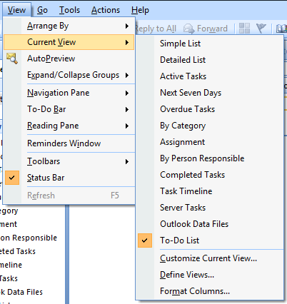 ORGANIZE TASKS BY CATEGORIES CONT.