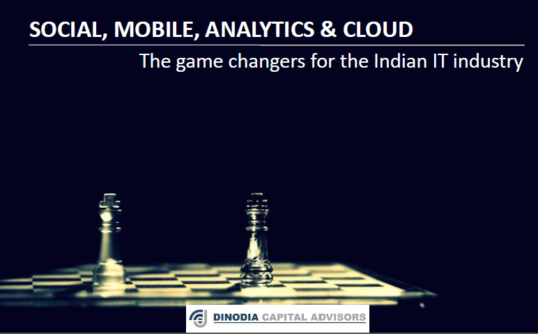 SMAC as a Game Changer Our Next Focus Services incorporating Social, Mobility, Analytics and Cloud (SMAC) are reshaping the traditional way the IT-BPM industry has been providing services till now