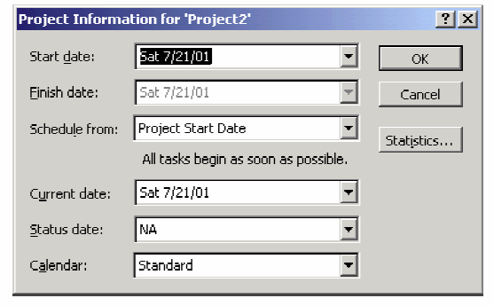 Microsoft Project cannot help you with (1), (2), (7) and (8) but it can carry the remaining on its shoulders and sail you smoothly to your goals. MS Project 1. TASKS a.
