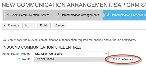 How to implement Mash up to show ECC screen in SAP Cloud for Customer 12 4. Under Communication System, select the SAP ERP System Instance ID and Code List Mapping value as SAP On Premise Integration.