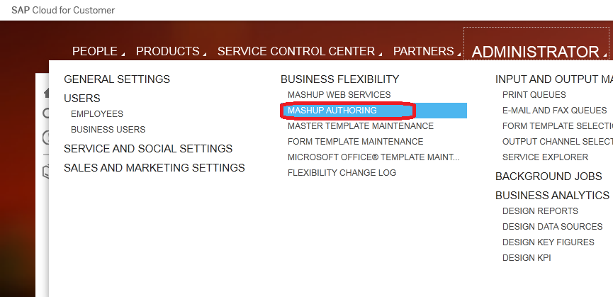 How to implement Mash up to show ECC screen in SAP Cloud for Customer 14 11. Under Confirmation, click Close.