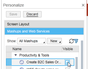 How to implement Mash up to show ECC screen in SAP Cloud