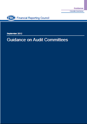 September 2012 FRC Guidance on Audit Committees new Bible Summary of role of AC Names and qualifications of members of AC Number of AC meetings Significant issues considered and how