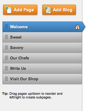 The Home page can have whatever name you want it to have -- the name for this site's Home has been changed to Welcome.