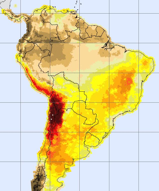 MINING AND ENERGY: A NEW OPPORTUNITY Chilean High Solar Radiation Northern Chile has the best