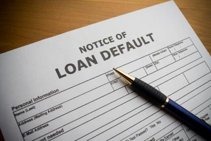 Banking Today Default: When a person fails to pay back a loan, he/she has defaulted on the loan.