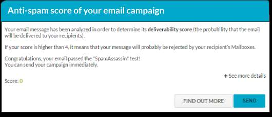 -11- Check your SpamAssassin score SpamAssassin is a free and open source software, widely known and reputed in the domain of antispam filtering.