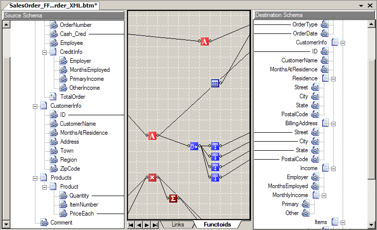 Transformation Services Building these transformation maps is done by using the graphical, drag-n-drop mapper These graphical maps are compiled to the XSLT standard BizTalk Server executes these XSLT