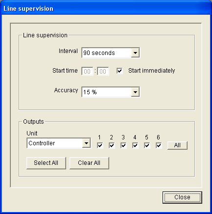 Plena Voice Alarm System Software Manual Supervision en 20 5.11 Line supervision 5.11.1 General Use the Enable box in the Line Supervision block to enable and disable line supervision.