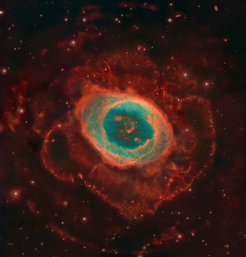 RING NEBULA Catalogue Designations: M57 NGC 6720 It is the most famous celestial band.