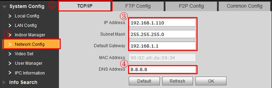 how to change ip address on cell phone