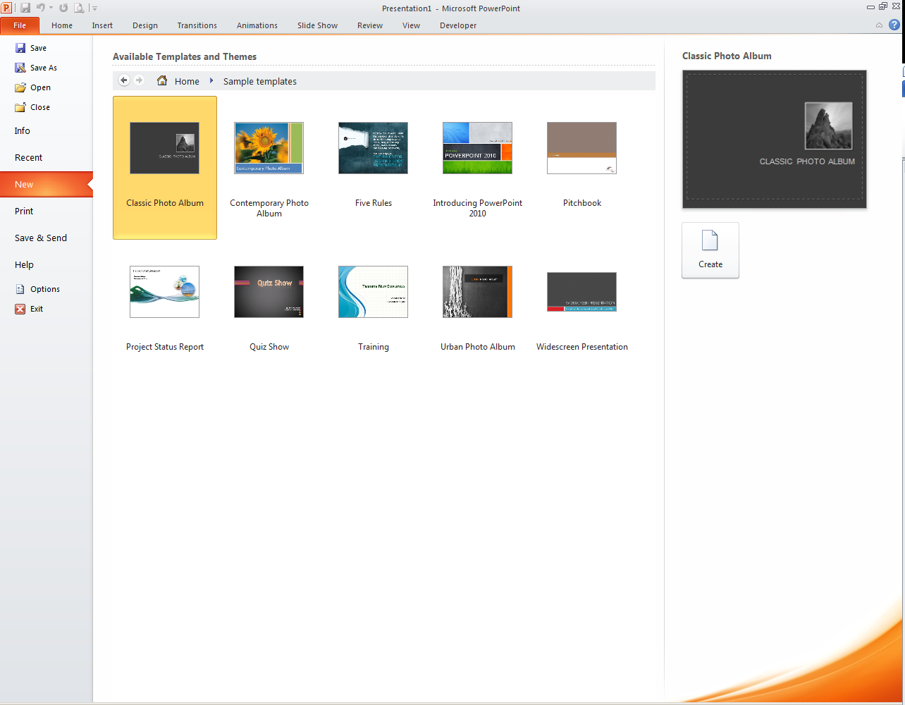 PowerPoint presentations contain at least one slide master and a set of slide layouts associated with the slide master.