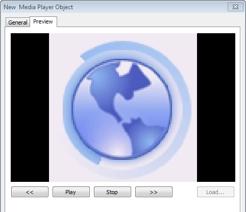 13-125 Preview Tab Users can test whether the video format is supported by using the preview function.