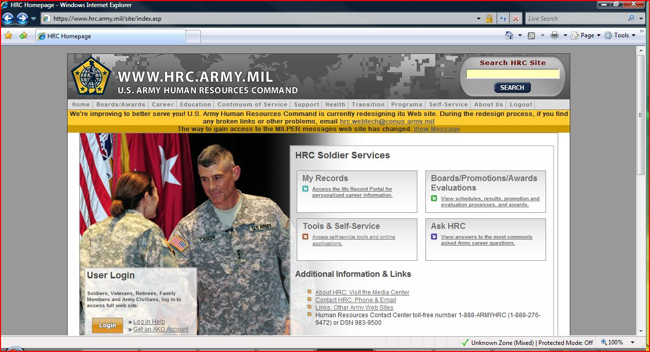 U.S. Army Human Resources Command - Home | Facebook