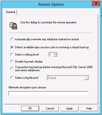 Procedure 1. Start the NetWorker User for Microsoft GUI on the SharePoint Server. 2.