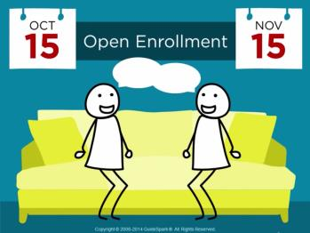 Emails: Open Enrollment Teaser Example Subject Line: Sneak Peek: Open Enrollment is Coming Heads up! Open Enrollment is coming soon.