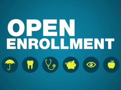 Emails: Open Enrollment Announcement Example Subject Line: Now Playing: Open Enrollment in a Nutshell Heads up!