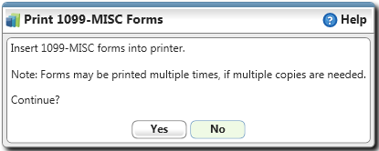 1099/1096...How Do I? Print 1099-MISC FORMS Cont.? Select/Unselect Checkbox: Any record with a checkmark will have a 1099 form printed.
