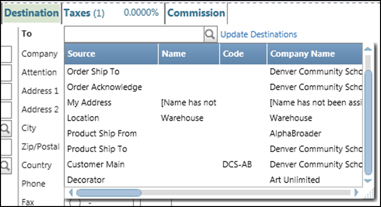 Orders/Invoices...How Do I? Add a Vendor Decorator Status? A Vendor can be marked as a Decorator by checking the Decorator checkbox on the vendor re-source.