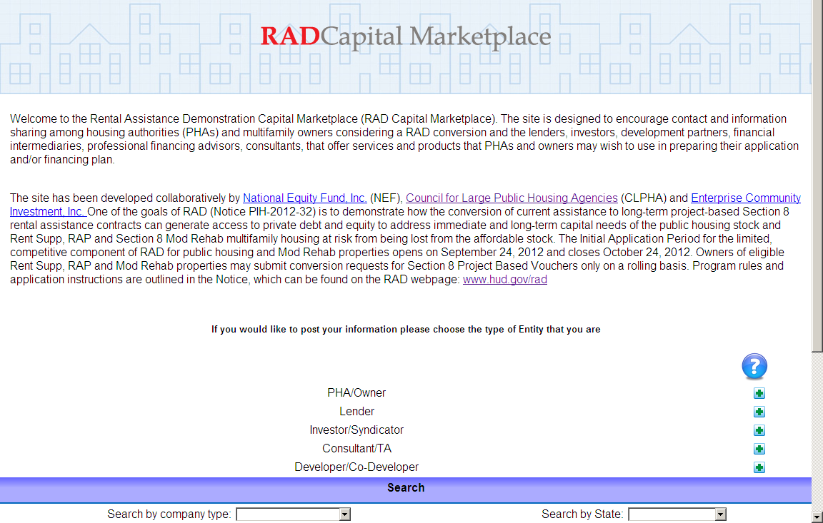 RAD CAPITAL MARKETPLACE www.