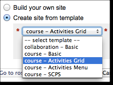 USING THE ECLPS MODEL FOR COURSE PORTALS The Syllabus and Lessons tools are recommended for creating a course portal for students.