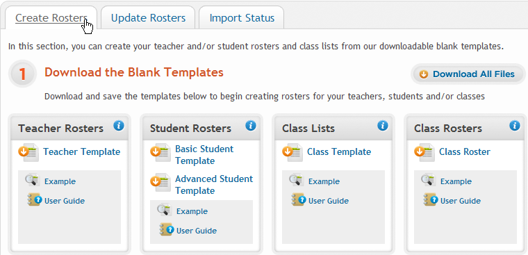 Import: Create Teachers Instead of having teachers register manually using the school passcode, you have the option of importing a spreadsheet to create teacher usernames.