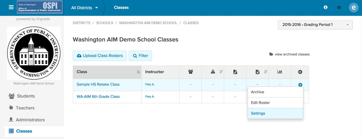 2. Click on the Teachers page. 3. Before adding a new teacher, you will want to drop the previous teacher if he/she should no longer have access to the class. 4.