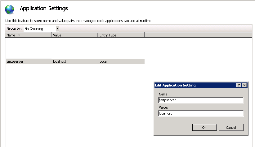 CONFIGURE SMTP E-MAIL FOR WEB APPLICATION Use the User Interface 1.