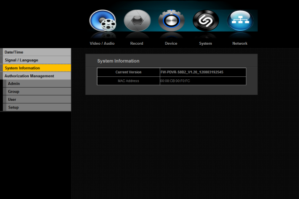 5.4.2. Signal/Language DVR supports up to 48 different languages. Select your preferred languages.