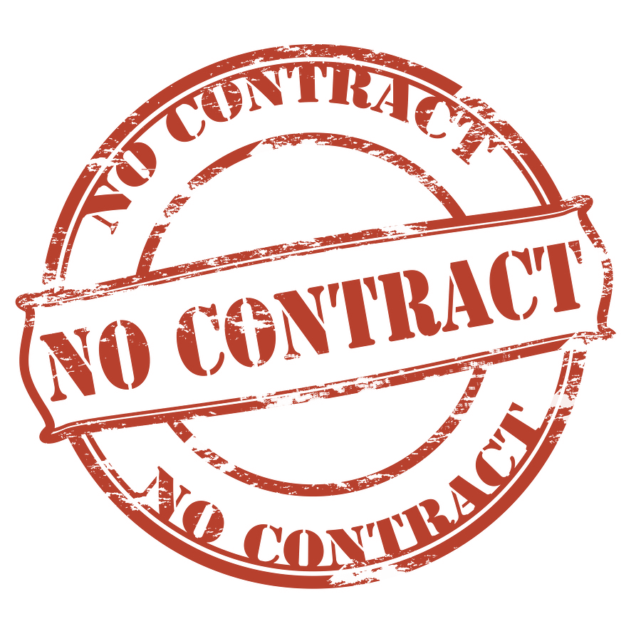 8. DO THEY NOT REQUIRE CONTRACTS? Many marketing companies will be adamant about making you sign a contract for at least 12 months.