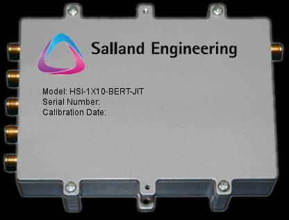 Salland s HIS-1X10-BERT-JIT (Figure 10) is an example of such a high performance instruments packaged in a very small footprint (3.2 x 4.9.