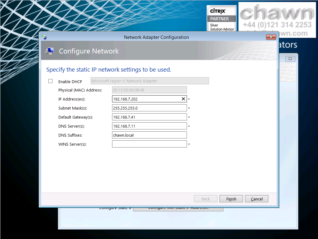 2.2 Deploy Windows Server 2012R2 Standard Edition (update 1) Power on the virtual machine and press any key to boot