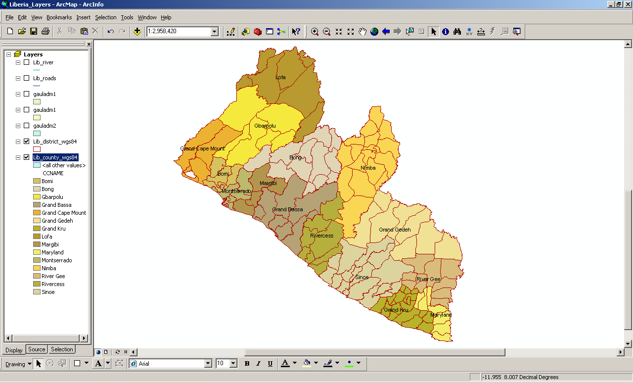 2 Session 1: Introduction to GIS - ArcMap Basics Objectives To recognize ArcMap (ArcView 9.