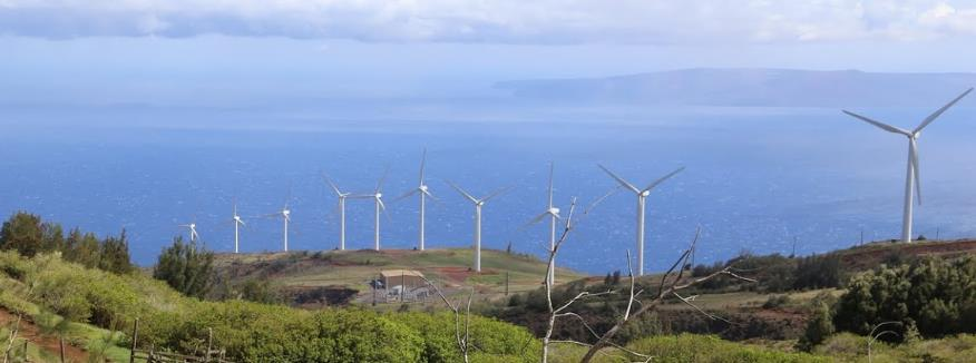 Application: Wind + Storage in Hawaii 72 MW of wind projects on 200MW Maui grid Without storage, 16.