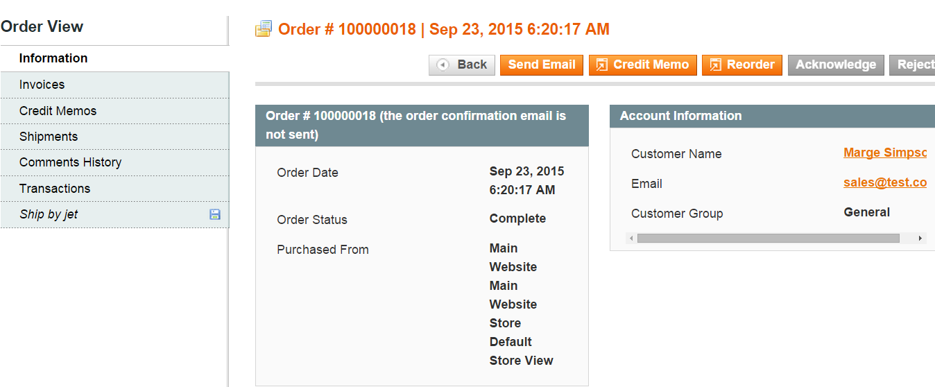 39 (custom jet payment method) for jet orders. So the merchant should enable these methods in Magento.