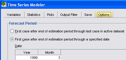 TIME SERIES ANALYSIS Step 3: to make prediction by applying saved models One way to make prediction is