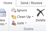 Junk Mail Folder Outlook s junk mail filter is a complex set of rules that analyzes mail based on content, sender s address, subject, attachments, etc.