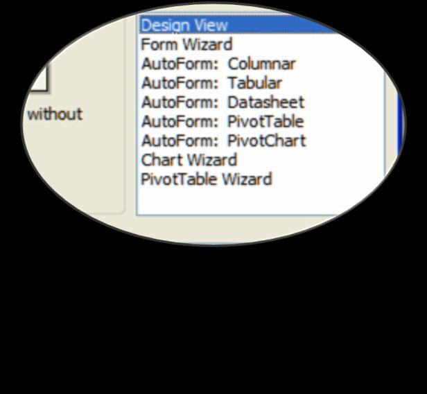 Using Form Wizard: You can create a form based on multiple talbes or queries using Form Wizard.