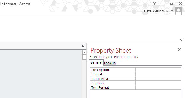 Step 60: Double-click or drag the field Type into the bottom of the query. Step 61: Select the Totals button in the Design tab. This will allow us to Group By the Type field.