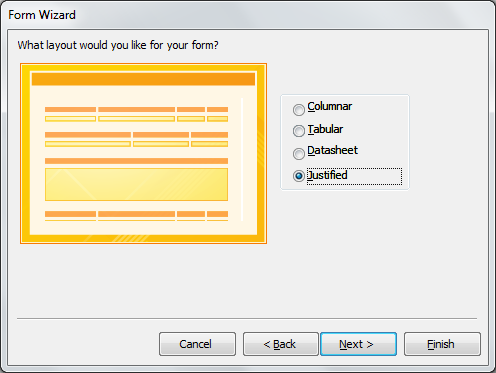 Step 3: Once all fields are selected, click Next.