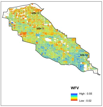 Regional Soil Moisture Maps Field/Watershed Scale