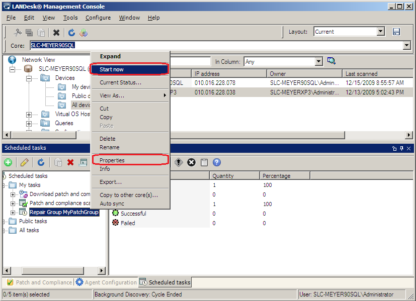 LANDesk Management Suite 9 0  Getting started with Patch