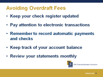 This can help you see if you are having a problem with overdrafts. Now that you know what they are and how costly they can be, we will recap how you can avoid overdrafts and overdraft fees.