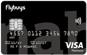 NAB flybuys Rewards Card Customers will earn 1 flybuys point for every $1 spent on everyday purchases on the NAB flybuys Rewards card (up to $20,000 per month) 11 Complimentary insurances including