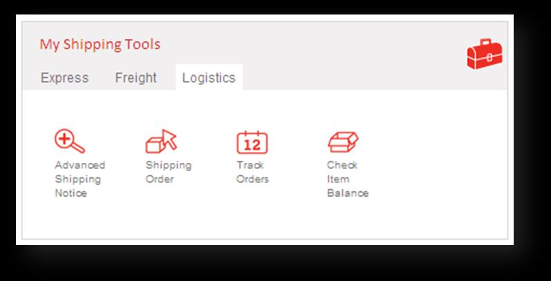 Logistics Online Services > On aramex.com customers can learn all about logistics solutions.